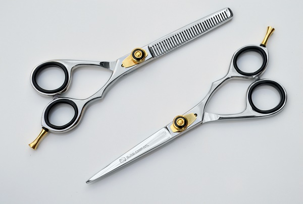 "Barber Hairdressing Scissor Thinning Set Silver 6"" SURGI CORP INTL"